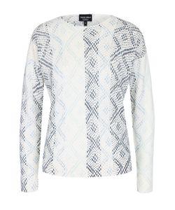 Giorgio Armani | Кашемировый Пуловер Прямого Кроя С Круглым Вырезом