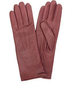 Agnelle | Кожаные Перчатки С Подкладкой Из Шерсти