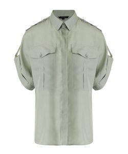 Tara Jarmon | Шелковая Блуза С Укороченным Рукавом