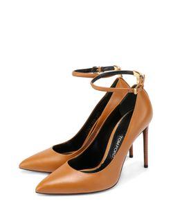 Tom Ford | Кожаные Туфли С Ремешком На Щиколотке
