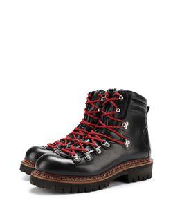 Dsquared2   Кожаные Ботинки На Контрастной Шнуровке