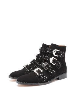 Givenchy | Замшевые Ботинки Elegant Studs С Заклепками