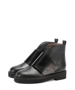 Marni | Кожаные Ботинки С Широким Ремешком