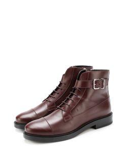 Tod'S | Кожаные Ботинки На Шнуровке