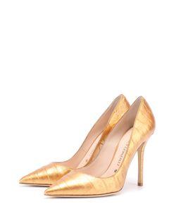 Nancy Gonzalez | Туфли Из Кожи Каймана На Шпильке