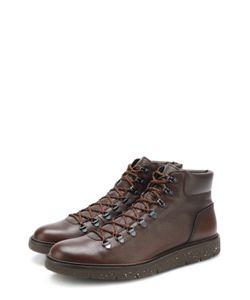 Hogan | Кожаные Ботинки На Шнуровке