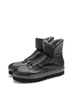 Rocco P. | Высокие Кожаные Ботинки На Толстой Подошве Rocco P.