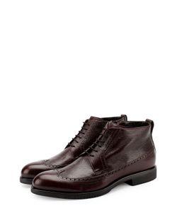 Aldo Brue | Кожаные Ботинки На Шнуровке С Брогированием