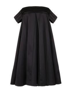 Edit | Платье Свободного Кроя С Открытыми Плечами