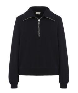 Dries Van Noten   Хлопковый Пуловер С Отложным Воротником