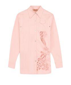 No. 21 | Блуза С Перфорацией И Декорированной Спинкой