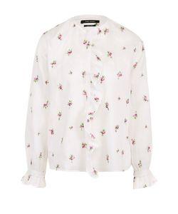 Isabel Marant | Блуза С Цветочным Принтом И Оборкой