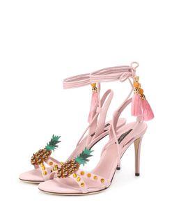 Dolce & Gabbana | Босоножки Keira С Подвесками И Заклепками