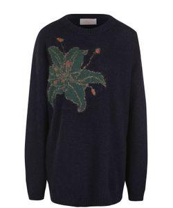 Tak.ori   Пуловер Свободного Кроя С Цветочным Принтом