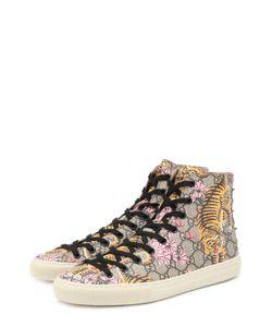 Gucci | Высокие Кеды Major Из Текстиля С Принтом