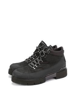 O.X.S. | Комбинированные Ботинки На Шнуровке .