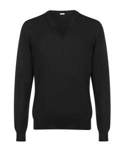 Malo | Шерстяной Пуловер С V-Образным Вырезом