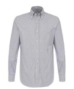 Loro Piana | Хлопковая Рубашка С Воротником Button Down
