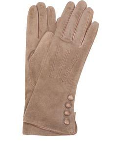Sermoneta Gloves | Замшевые Перчатки С Кашемировой Подкладкой