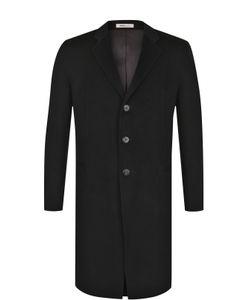 Armani Collezioni | Однобортное Кашемировое Пальто С Отложным Воротником