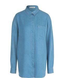 Acne | Удлиненная Джинсовая Блуза Прямого Кроя