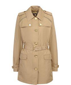 Michael Michael Kors | Укороченное Пальто С Поясом И Погонами