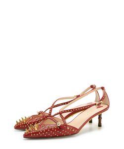 Gucci | Кожаные Туфли Unia С Заклепками И Шипами