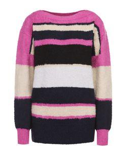 Sacai | Пуловер Прямого Кроя В Контрастную Полоску