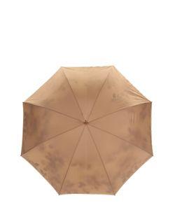 Pasotti Ombrelli | Зонт-Трость С Цветочным Принтом