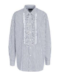 Polo Ralph Lauren | Хлопковая Блуза В Полоску С Оборками