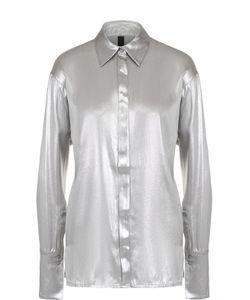 Ilaria Nistri | Шелковая Блуза Прямого Кроя С Металлизированной Отделкой