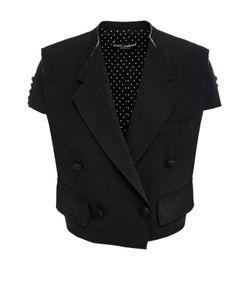 Dolce & Gabbana | Укороченный Двубортный Жакет С Широкими Лацканами