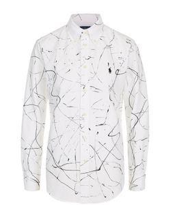Polo Ralph Lauren | Хлопковая Блуза Прямого Кроя С Принтом