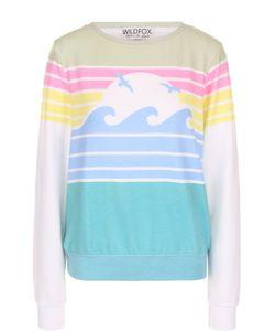 Wildfox | Пуловер Прямого Кроя С Принтом