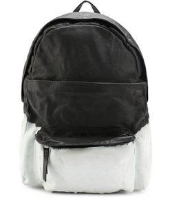 OXS RUBBER SOUL | Кожаный Рюкзак С Двумя Внешними Карманами