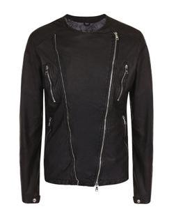 Giorgio Brato | Кожаная Куртка С Косой Молнией