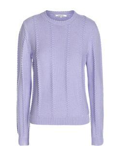 Carven | Вязаный Пуловер С Рельефной Отделкой И Круглым Вырезом
