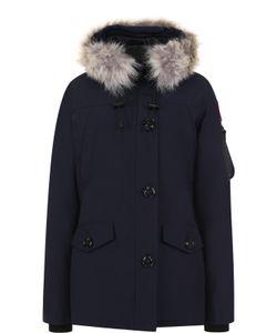 Canada Goose | Утепленная Куртка Montebello С Капюшоном И Меховой Отделкой