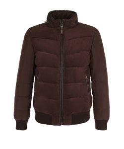 Windsor | Утепленная Куртка На Молнии С Замшевой Вставкой