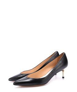 Maison Margiela | Кожаные Туфли На Каблуке Kitten Heel