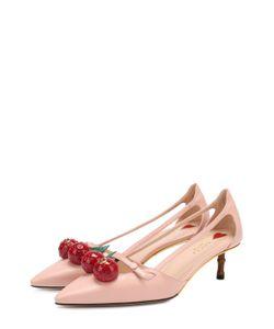 Gucci | Кожаные Туфли Unia С Декором