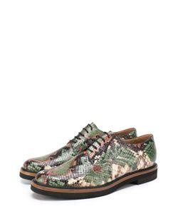 Dries Van Noten | Кожаные Ботинки С Тиснением