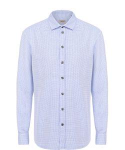 Armani Collezioni | Хлопковая Рубашка С Воротником Акула