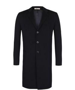 Armani Collezioni | Однобортное Пальто Из Смеси Шерсти И Кашемира