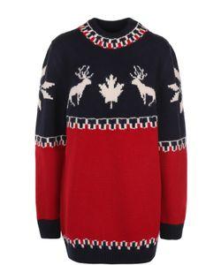 Dsquared2 | Удлиненный Пуловер С Принтом