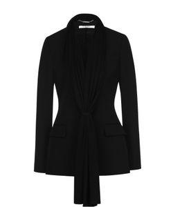 Givenchy | Шерстяной Приталенный Жакет С Декоративной Отделкой