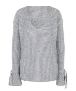 Ftc | Кашемировый Пуловер Фактурной Вязки С V-Образным Вырезом