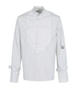 J.W. Anderson | Хлопковая Рубашка В Полоску С Отделкой