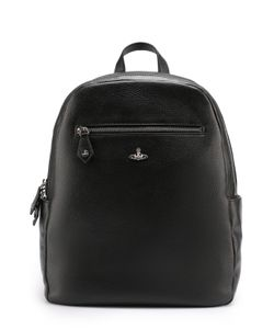 Vivienne Westwood | Кожаный Рюкзак С Внешними Карманами На Молнии