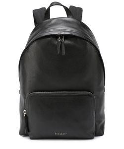 Burberry | Кожаный Рюкзак С Внешним Карманом На Молнии